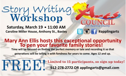 Story Writing Workshop Eddings Enterprise