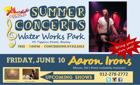 Eddings Enterprise Summer Concerts Aaron Irons