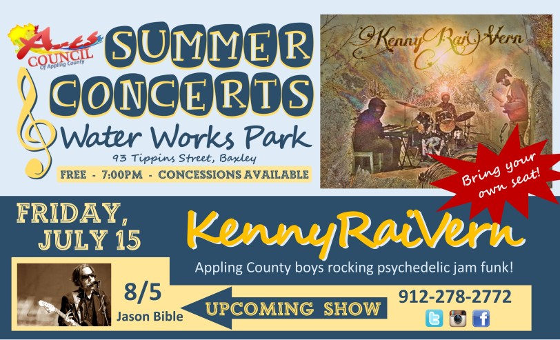 Eddings Enterprise Summer Concerts KennyRaiVern